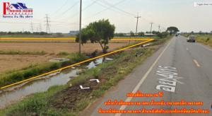 For SaleLandAyutthaya : Land for sale in Ayutthaya 30-0-28 rai, next to Rojana Industrial Estate, Uthai District, Ayutthaya Province, 30 rai 28 sq m.