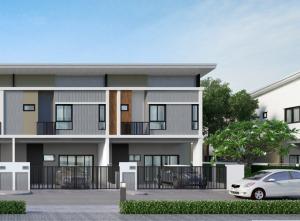 For RentTownhouseRama5, Ratchapruek, Bangkruai : House for rent, The Modish Ratchaphruek - Kanchanaburi, corner house, clean, ready to move in 🌟
