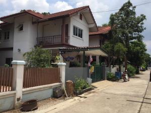 For SaleHouseRangsit, Patumtani : Urgent sale, semi-detached house, cheap.
