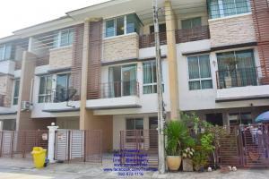 For RentTownhouseRattanathibet, Sanambinna : 3-storey townhome for rent, Sanambinnam intersection
