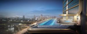 For SaleCondoRama9, Petchburi, RCA : Super Luxury Condo!! Fully furnished Near MRT Phetchaburi - THE ESSE at SINGHA COMPLEX @10.2MB