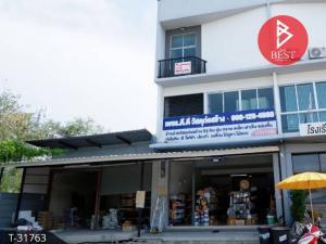 For SaleShophouseSamrong, Samut Prakan : 3-storey commercial building for sale, Pruksa 106, Bang Pu-Tamru, Samut Prakan.