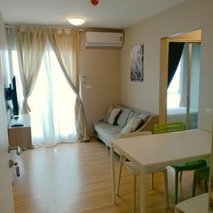 For RentCondoChengwatana, Muangthong : Announcement .... Beautiful room for rent, Plum Condo Chaengwattana Station *** taken from the actual room size 35 sqm.