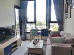 เช่าคอนโดสุขุมวิท อโศก ทองหล่อ : For Rent : 1 ห้องนอน 30 ตร.ม แต่งแบบห้องตัวอย่าง คอนโด XT เอกมัย