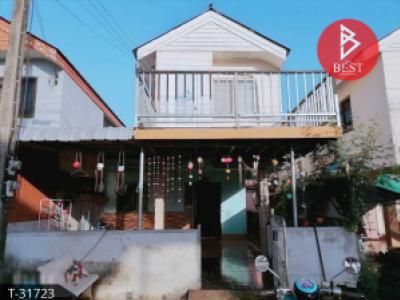 For SaleTownhouseChumphon : Cheap 2-storey detached house for sale, 21 sq.w., housing project, Chumphon community