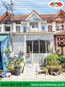 For SaleTownhouseBang kae, Phetkasem : Townhouse for sale 16 sq m. Phrom Chai Along the northern canal Beautiful, replenishment, good structure, contact 065-5291997