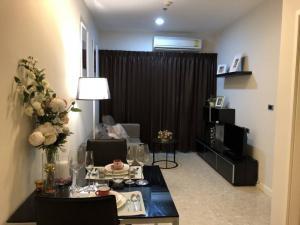 For RentCondoSukhumvit, Asoke, Thonglor : Condo for rent The Crest 34 Type 1 bedroom 1 bathroom Size 45 sq.m. Floor 18