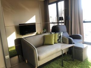 For RentCondoSukhumvit, Asoke, Thonglor : Condo for rent Ashton Asoke Type 1 bedroom 1 bathroom Size 30.5 sq.m. Floor 19