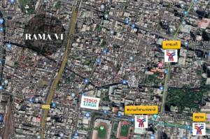 ขายที่ดินราชเทวี พญาไท : ขายที่ดินราคาถูกมาก ใจกลางเมือง ถนนพระราม 6