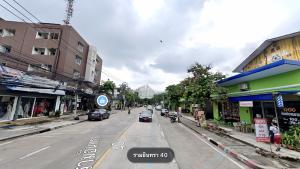 For SaleLandKaset Nawamin,Ladplakao : Land for sale Nuanchan - Ramintra 40, intersection 13, off the Ekamai Ramintra Expressway. Kaset-Nawamin can enter Soi 80 meters.