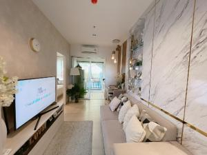 For SaleCondoSamrong, Samut Prakan : Niche Mono Sukhumvit-Pu Chao, next to BTS 50 meters, 1 bedroom, 36 sq.m., only 2.59 million, fully furnished. New condo ready to move in