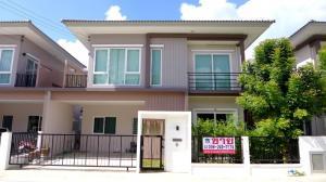 For SaleHouseRathburana, Suksawat : Cheap sale, 2-storey detached house, 4 bedrooms, 3 bathrooms, Q District, Suksawat-Wongwan, Rama 3.