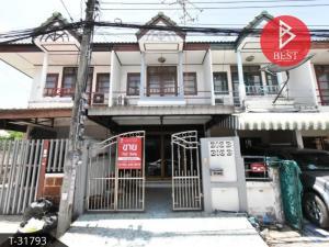 For SaleTownhouseSamrong, Samut Prakan : Townhouse for sale, Suthawee Porn Sawang, Thepharak, Bang Phli, Samut Prakan.