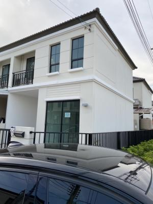 For RentTownhouseKhon Kaen : K1113 For rent, Pruksa Airport Maliwan village # New house, never rented.