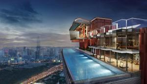 Sale DownCondoRama9, RCA, Petchaburi : 🔥 Sale down payment below cost 🔥 2,750,000 Baht Life Asoke Hype