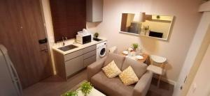 For SaleCondoRama9, RCA, Petchaburi : This room is awesome. Condo area Rama 9 price less than 3 million Condo A Space ID Asoke-Ratchada.