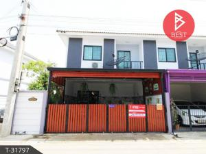 For SaleTownhouseChachoengsao : Townhouse for sale behind the corner, ready to move in, Sivalai Village, Bang Phai, Chachoengsao.