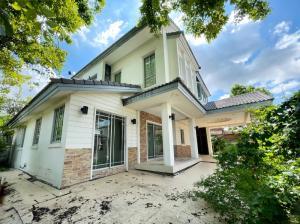 For SaleHouseSamrong, Samut Prakan : ✅ 2 storey detached house for sale, Manthana Wongwaen-Thepharak, size 74 square meters ✅