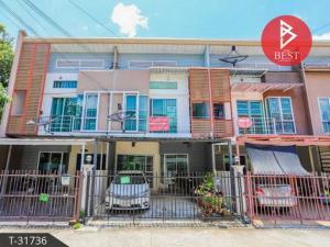 For SaleTownhouseSamrong, Samut Prakan : Townhouse for sale Iris Park Sukhumvit 76 Samut Prakan.