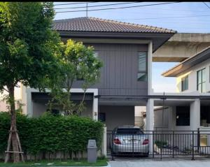 For RentHouseOnnut, Udomsuk : 📣 House for rent Baan Klang Muang Edition Rama 9 On Nut near Airport Link Ban Thap Chang Station