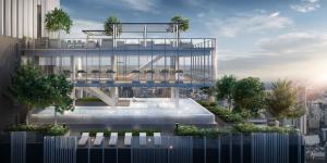 For SaleCondoSukhumvit, Asoke, Thonglor : Penthouse on 42nd fl. / 98.9 sq.m. / 31.54 million baht / beautiful view, good price.