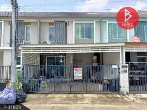 For SaleTownhouseSamrong, Samut Prakan : Townhouse for sale, Pruksa Ville 83 Sub Boonchai - Srinakarin, Samut Prakan.