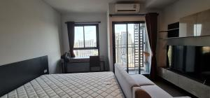 For RentCondoSapankwai,Jatujak : [A443] Hurry up, cheapest in the building 🔥🔥🔥 **Special price 11,000 baht Condo for rent, Condo IDEO Phahon - Chatuchak, near Saphan Khwai BTS station, size 28 sq m. Floor 24, north, city view. Not near the garbage room, next to BTS Saphan Khwai 150 meter