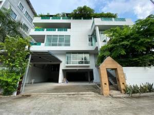 For RentHome OfficePinklao, Charansanitwong : Home office for rent, 263 sq.w. 5 floors, 6 bedrooms, Prannok Village 5, Bangkok Noi - ER-210126.