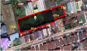 For SaleLandBangbuathong, Sainoi : Land for sale in Bang Bua Thong market.