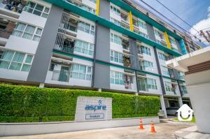 For SaleCondoPattanakan, Srinakarin : Condo for sale ASPIRE SRINAKARIN - 1 bedroom, corner room, top floor, size 29 sq.m., price 1.9 million baht!