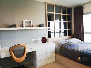 เช่าคอนโดท่าพระ ตลาดพลู : ให้เช่า Aspire Sathorn-Taksin (Timber Zone) ขนาด 46 ตร.ม. 2ห้องนอน ถูกที่สุดในโครงการ