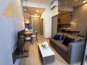 For RentCondoRatchadapisek, Huaikwang, Suttisan : Condo for rent, Centric Ratchayothin (Centric Ratchayothin), 1 bedroom, size 34 sq m., 18th floor.