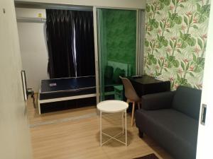For RentCondoChengwatana, Muangthong : Hurry ... Beautiful room for rent, ready to move in immediately @ Plum Condo Mix Chaengwattana Phase 4
