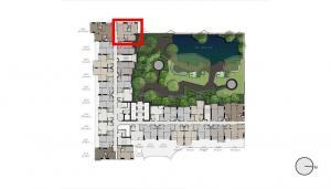 Sale DownCondoLadprao, Central Ladprao : Life Ladprao Valley 2-bed 60 sq m, pool view, price around Investor.