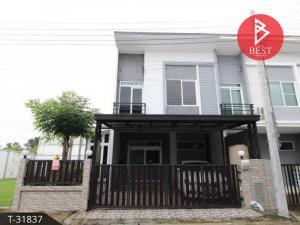 For SaleTownhouseSamrong, Samut Prakan : 2 storey townhome for sale, Casa City Bangna, Bang Phli, Samut Prakan