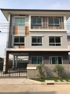 For RentHouseRama 2, Bang Khun Thian : RH559 3-storey detached house for rent, usable area 241 square meters, Casa Premium Rama 2, near Central Rama 2.