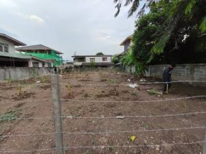 For SaleLandChengwatana, Muangthong : 📢 Urgent!! Land for sale Chaengwattana 14 ** Suitable for building a house ** The train station is in front of the village ** a few minutes to the expressway ** Not far from Don Mueang Airport