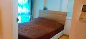 For RentCondoRama9, RCA, Petchaburi : Casa Condo Asoke-Din Daeng for rent, 19th floor, beautiful view.