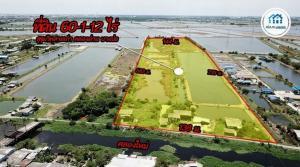 For SaleLandSamrong, Samut Prakan : Land for sale 60-1-12 rai, next to the old Sukhumvit Road, Khlong Rong Subdistrict, Khlong Mai, Khlong Dan, Bang Bo, Samut Prakan