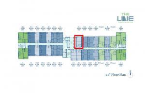 ขายดาวน์คอนโดลาดพร้าว เซ็นทรัลลาดพร้าว : The Line พหล ห้อง Promotion ชั้น 31 เพียง 2.99 ล้าน หรือ 93,xxx บาท/ตร.ม.