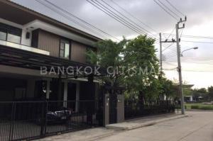 For SaleHouseBangna, Lasalle, Bearing : House for sale Manthana behind the corner of Bangna Km 7, Mega Bangna.