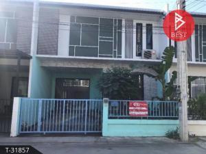 For SaleTownhouseRayong : Townhome for sale, half floor, Bigger Home, Grand Pluak Daeng, Rayong