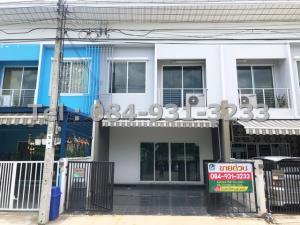 For SaleTownhouseRathburana, Suksawat : For sale Pleno Suksawat 30, house type A, house width 20.6 sq m, cheap