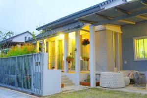 For SaleHouseRangsit, Patumtani : ⭐🚩 House for sale‼ Pretty like a resort Warabodin Village Ring-Lamlukka The cheapest sale in the project (H1122)
