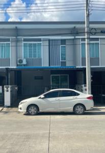 For SaleTownhouseLadkrabang, Suwannaphum Airport : Sell / rent 2-storey townhome, Pruksa Ville 92, near Suvarnabhumi.