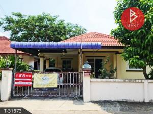 For SaleHouseChiang Mai : Single storey house for sale. Noppakao Village, San Sai District, Chiang Mai Province