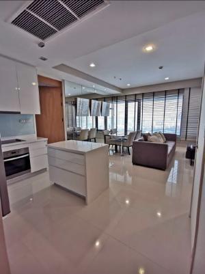 For RentCondoWitthayu,Ploenchit  ,Langsuan : for rent Amanta Lumpini,2 Bedrooms. 2 bathrooms 250 meters from MRT Khlong Toei 36th Floor; Usable area 95 sq.m.;