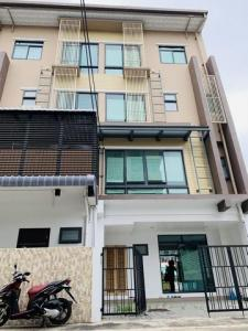 For RentTownhouseRama3 (Riverside),Satupadit : 4-storey townhome for rent, behind the corner of Rama 3, Sathupradit Chan, new townhome, never entered.