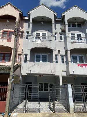 For SaleTownhouseChengwatana, Muangthong : 🔥 Urgent sale 🔥 Townhome, good location, Chaengwattana Road, near Government Center, 4 bedrooms, 3 bathrooms, high ceiling, comfortable