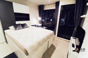 For RentCondoRama9, Petchburi, RCA : For rent  Rhythm Asoke  - Studio, size 22 sq.m., Beautiful room, fully furnished.